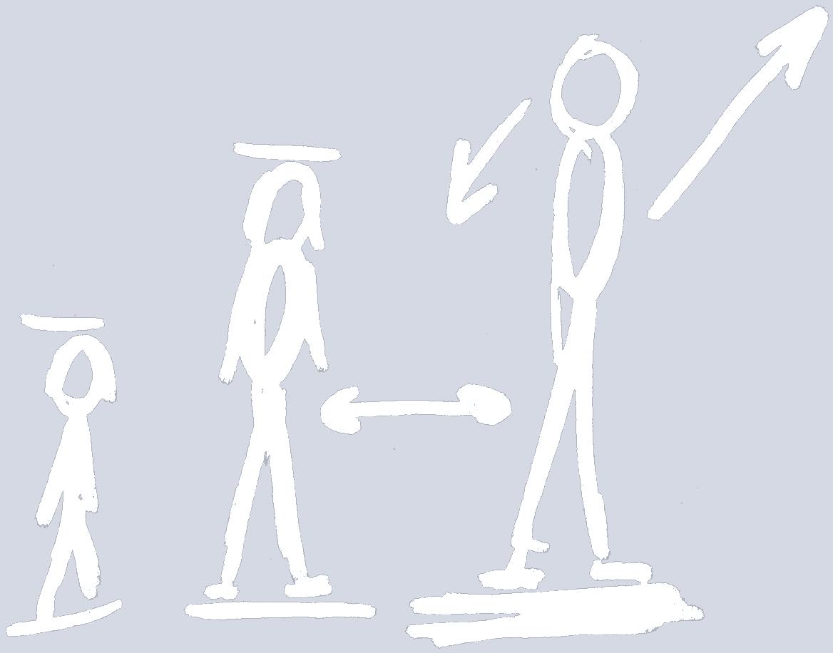 Mensjes illustratie